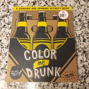 Other - 💜 3 for $20 Drinking and drawing coloring book